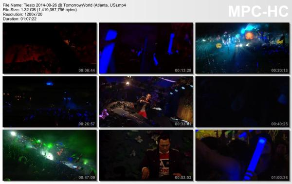 Tiesto 2014-09-26 TomorrowWorld (Atlanta, US) Video