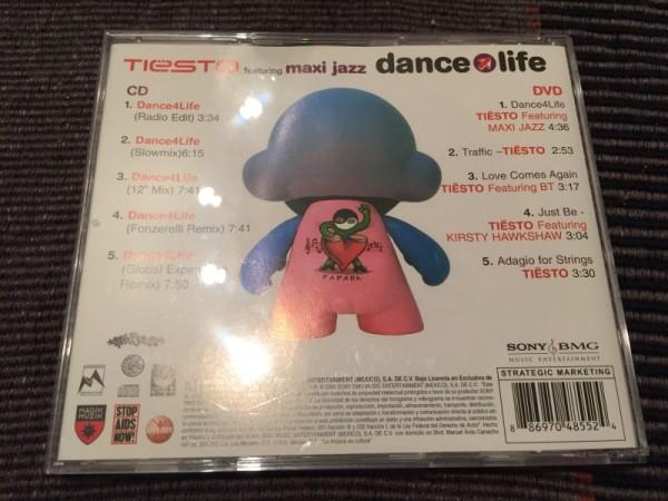 Tiesto - Dance 4 Life (CD+DVD) (Sony BMG Music Entertainment) [2006] (4)