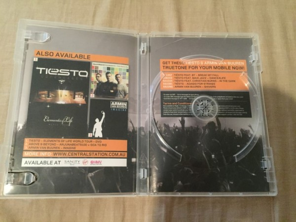 Tiesto - Elements Of Life DVD Sampler (2)