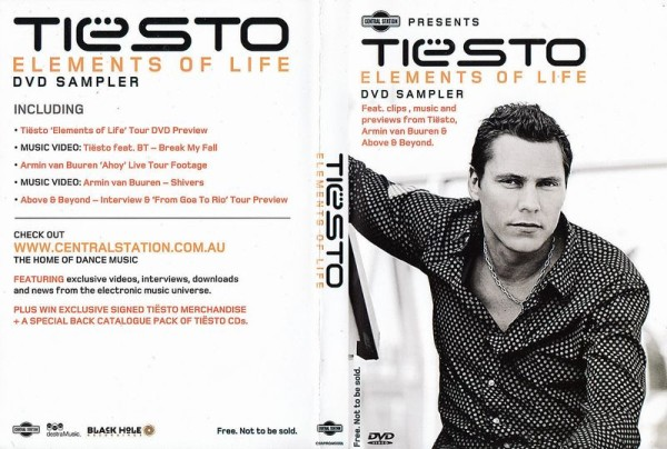Tiesto - Elements Of Life DVD Sampler (2008) Scan