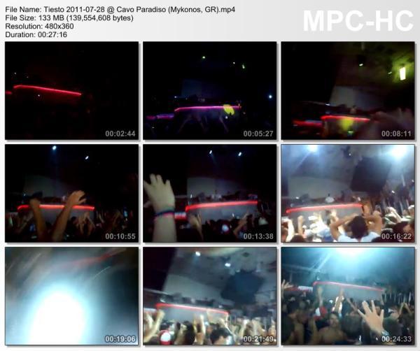 Tiesto 2011-07-28 Cavo Paradiso (Mykonos, GR) Video
