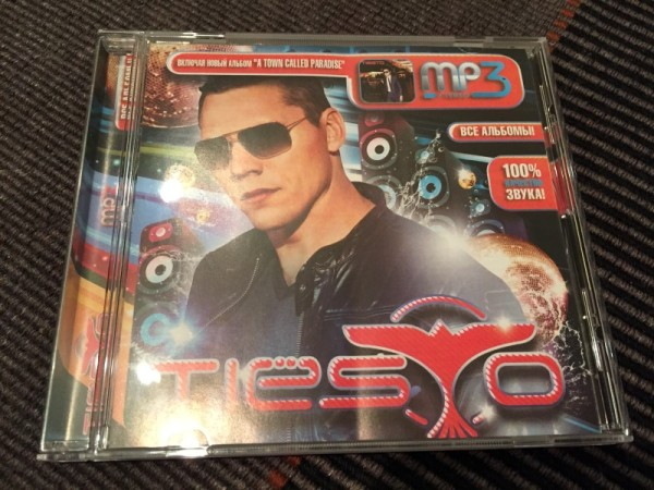 Tiesto MP3-CD Incl. A Town Called Paradise 2014 (1)
