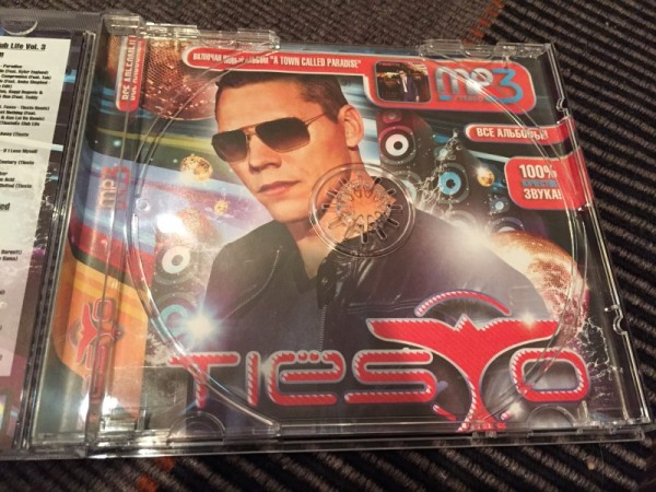 Tiesto MP3-CD Incl. A Town Called Paradise 2014 (3)