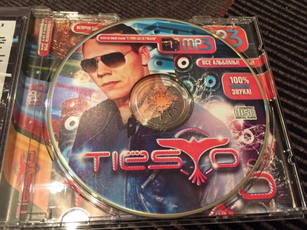 Tiesto MP3-CD Incl. A Town Called Paradise 2014 (4)