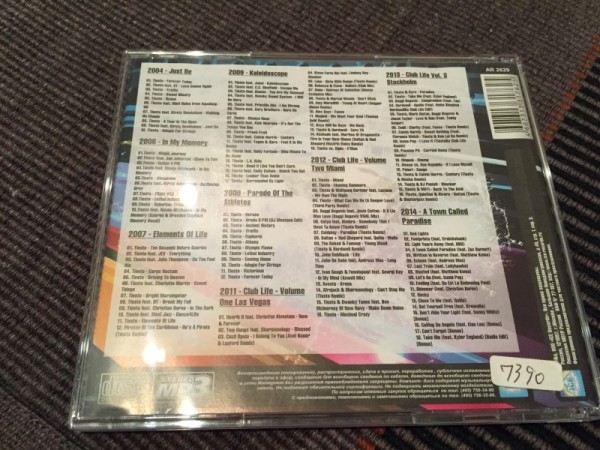 Tiesto MP3-CD Incl. A Town Called Paradise 2014 (5)