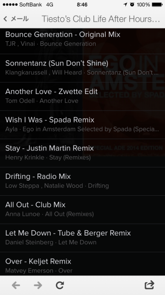 Tiesto's Club Life After Hours Playlist November (Spotify) 2014 (2)
