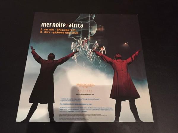 Cirque Du Soleil - Volume 6 Mer Noire  Africa (Tiesto And Quicksound Remixes) (Vinyl) (2)