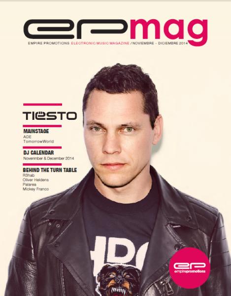 Tiesto - EP Mag 8 (WEB) (December) (2014)