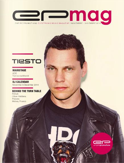 Tiesto - EP Mag 8 (WEB) (December) (2014) Cover