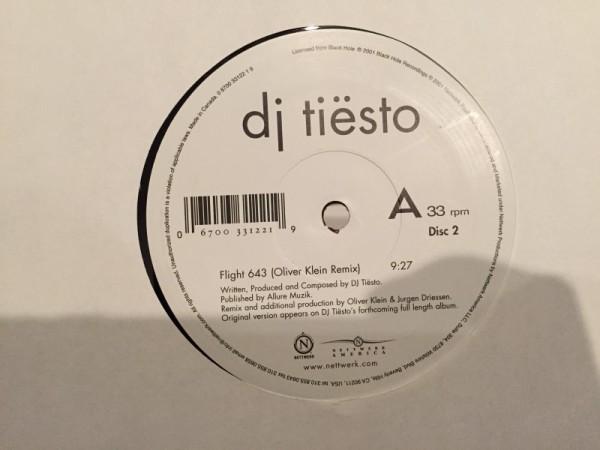 Tiesto - Flight 643 (Nettwerk America) (Vinyl) (5)