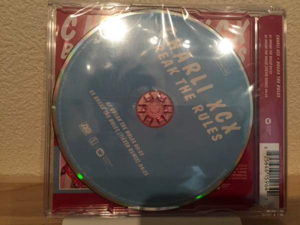 Charli XCX - Break The Rules (Incl. Tiesto Remix) (CDS) 2015 (2)