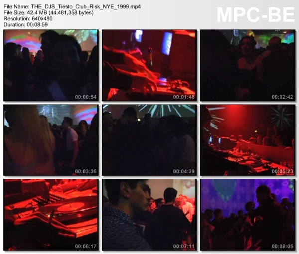 Tiesto 1998-12-31 Club Risk (Amsterdam, NL) Video