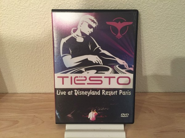 Tiesto - Live At Disneyland Resort Paris (Unofficial) (DVD) 2009 (1)