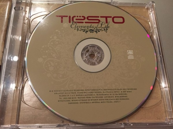 Tiesto - Elements Of Life (CD+DVD) (Magic Records) 2007 (5)