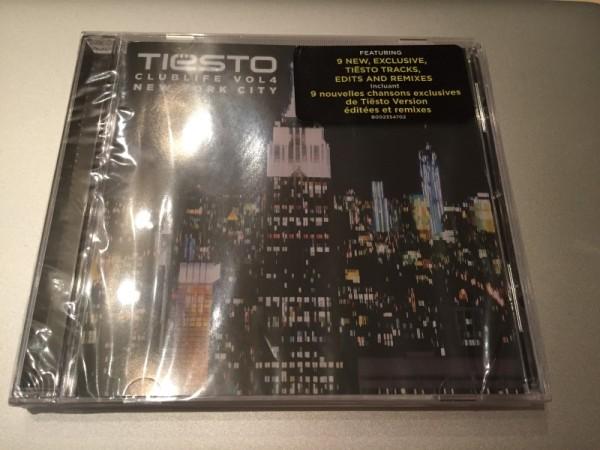 Tiesto - Club Life Vol.4 New York City (2015) Front