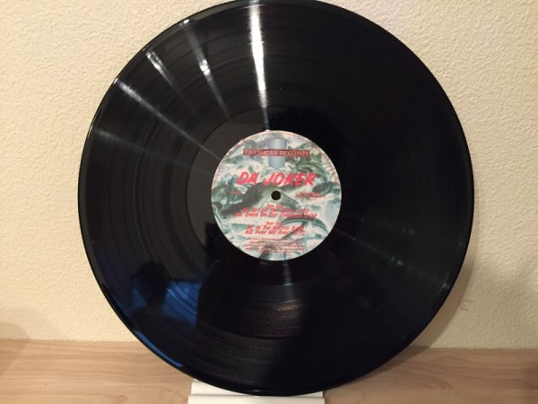 Da Joker - In The Ghetto (Vinyl) (Trashcan Records) 1995 (3)