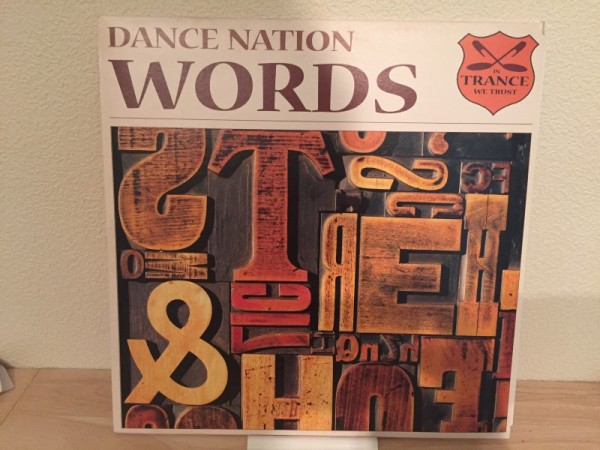 Dance Nation - Words (In Trance We Trust) (Vinyl) 2002 (1)