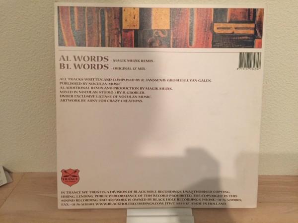 Dance Nation - Words (In Trance We Trust) (Vinyl) 2002 (2)