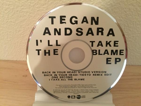 Tegan and Sara - I'll Take The Blame EP (Sire) (CD) 2007 (3)