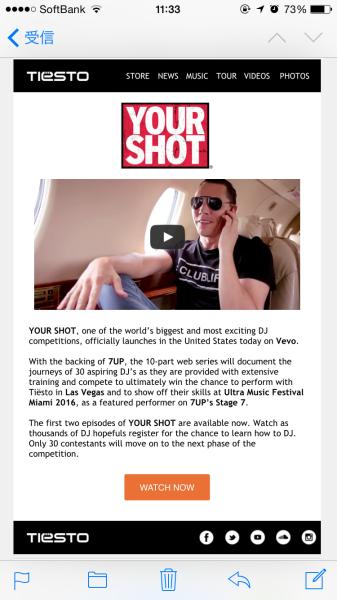 Tiesto - Your Shot (7UP) (2015)