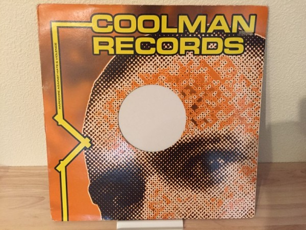 DJ Limited - Arabsession (Blue Vinyl) (Coolman Records) 1994 (1)