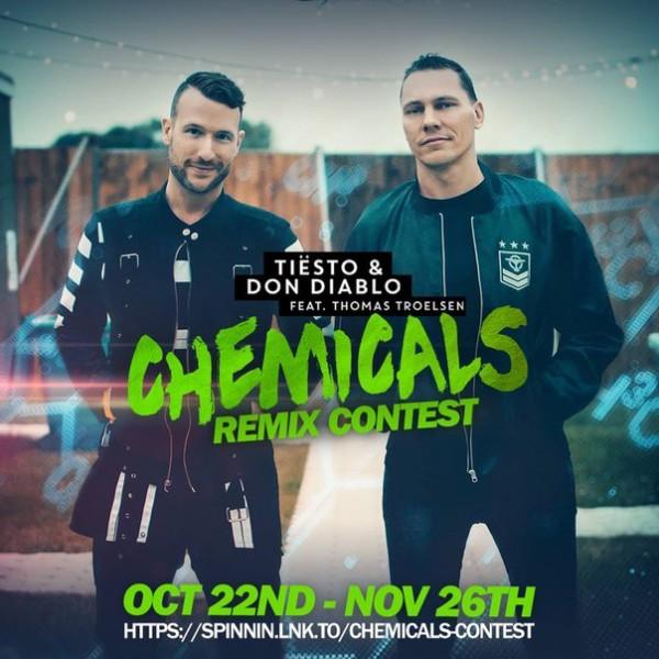 Remix contest Tiesto & Don Diablo - Chemicals Feat. Thomas Troelsen (2015)