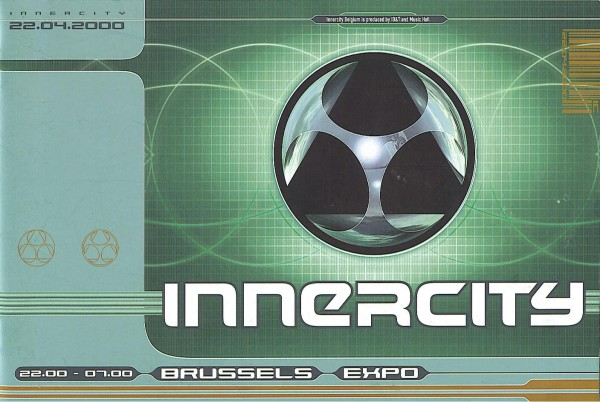 Tiesto 2000-04-22 Innercity 2000, Brussels Expo (Brussels, BE) Flyer