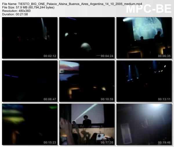 Tiesto 2005-10-14 Crobar, Palacio Alsina (Beunos Aires, AR) Video