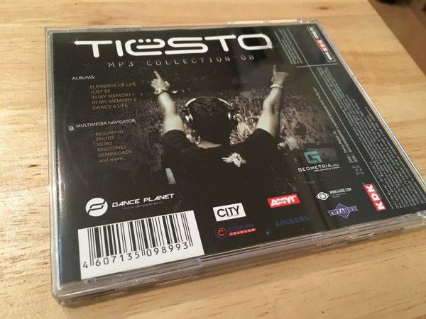 Tiesto - Mp3 Collection '08 2008 (3)