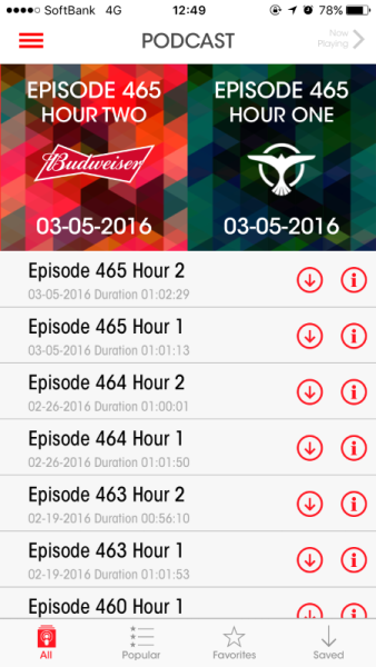 Brand New Tiesto App (iOS & Android) 2016 (5)