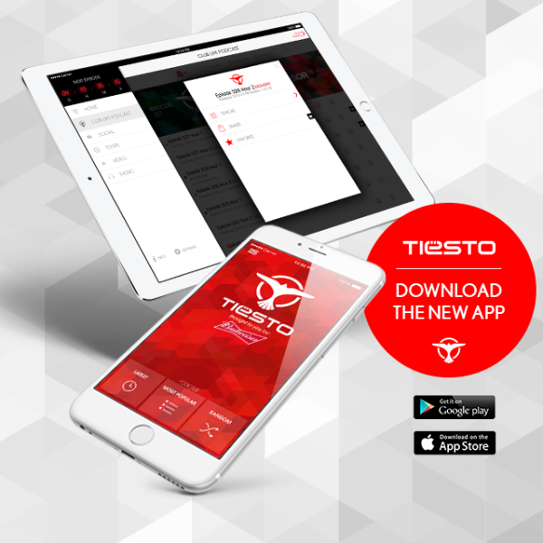 Brand New Tiesto App (iOS & Android) (2016) Download