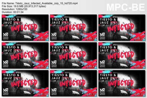 Tiesto & Jauz - Infected (WEB) (2016) Preview