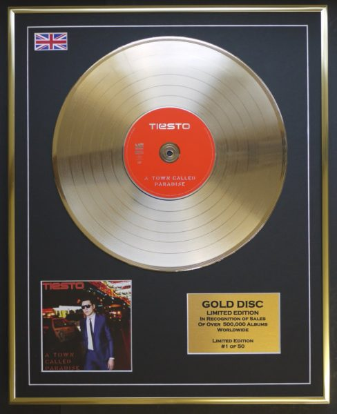 tiesto-a-town-called-paradise-gold-disc-record-50-limited-edition-2014